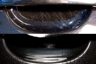 Защитная пленка под ручки автомобиля. Царапины под ручками дверей. Защита зоны под ручками